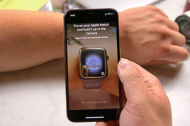 Hur man parar ihop Apple Watch med iPhone