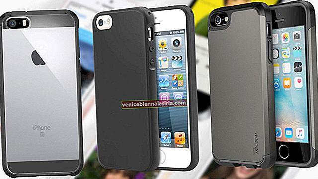 Bästa iPhone 5 / 5s bumperfodral 2020