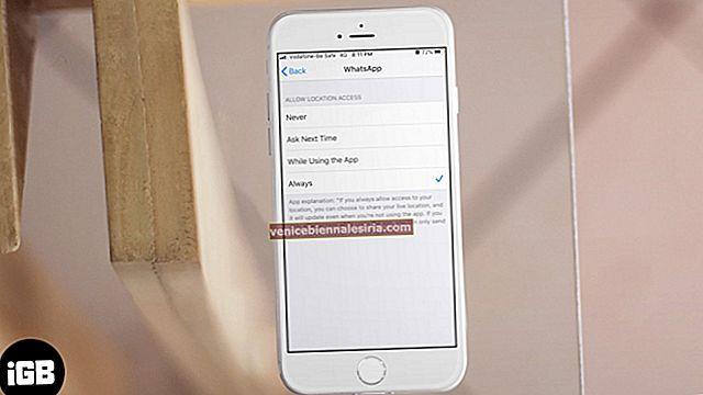 Platstjänster är alltid PÅ på iPhone? Här är en fix