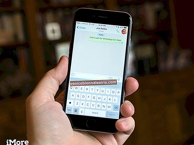 Cum să vă trimiteți prin e-mail chatul WhatsApp de pe iPhone