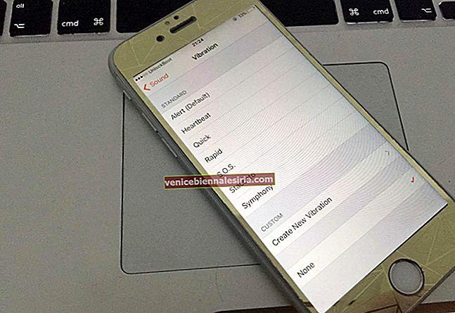 Как отключить вибрацию для будильника на iPhone