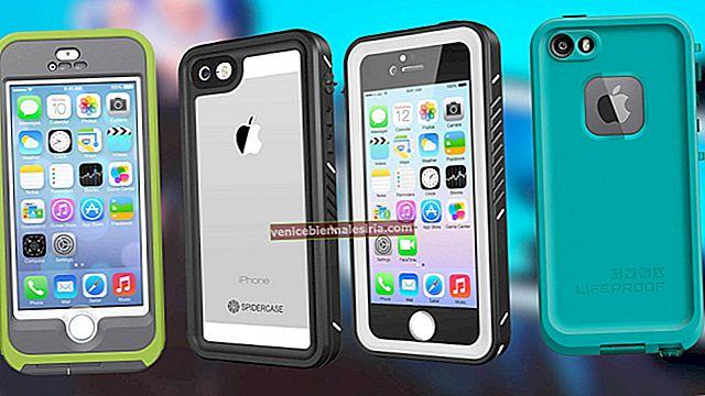 Bästa vattentäta fodral för iPhone SE, 5s och iPhone 5 år 2021