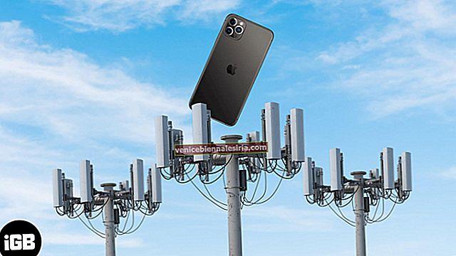 Så här kontrollerar du den faktiska signalstyrkan på din iPhone