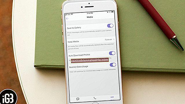 Hur laddar jag ner Viber-videor och foton till iPhone-kamerarulle
