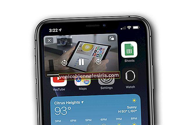 iOS 14: Cara Menggunakan YouTube dalam Mod Gambar dalam Gambar pada iPhone