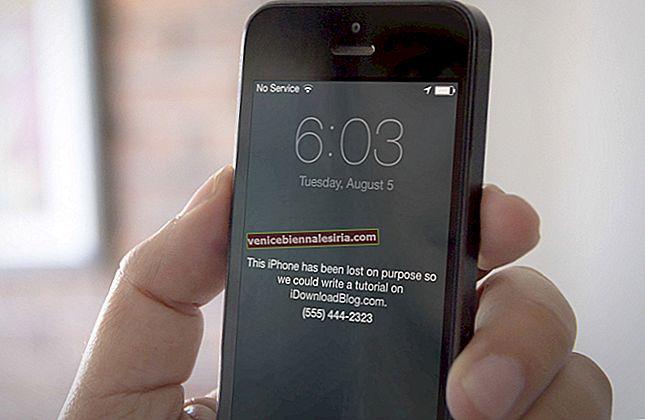 Cum să activați modul pierdut pe iPhone și iPad