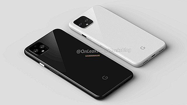 Google Pixel 4-läckor: Exklusiva 360-renderingar