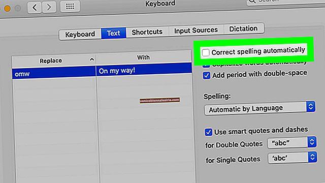 Hur man stänger av autokorrigering av stavning på Mac