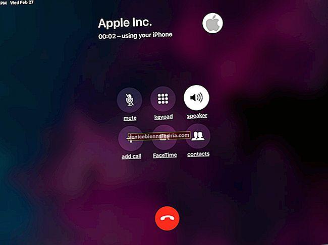 Hur man ringer och tar emot telefonsamtal på Mac och iPad