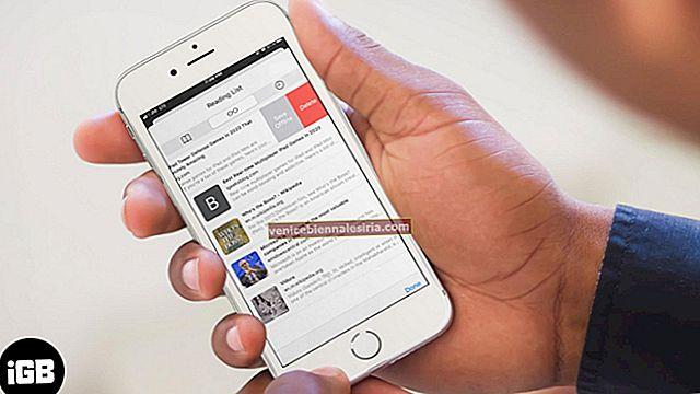 Как удалить список чтения Safari на iPhone, iPad и Mac