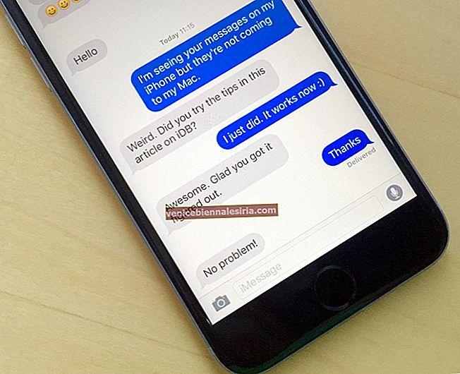 Så här ändrar du iMessage-telefonnummer på iPhone