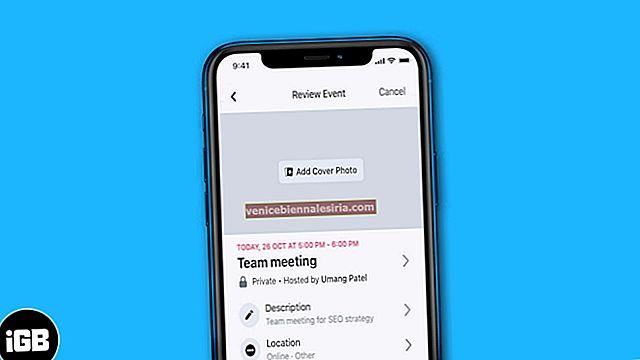 Cum să creați un eveniment Facebook pe iPhone și iPad [2021]