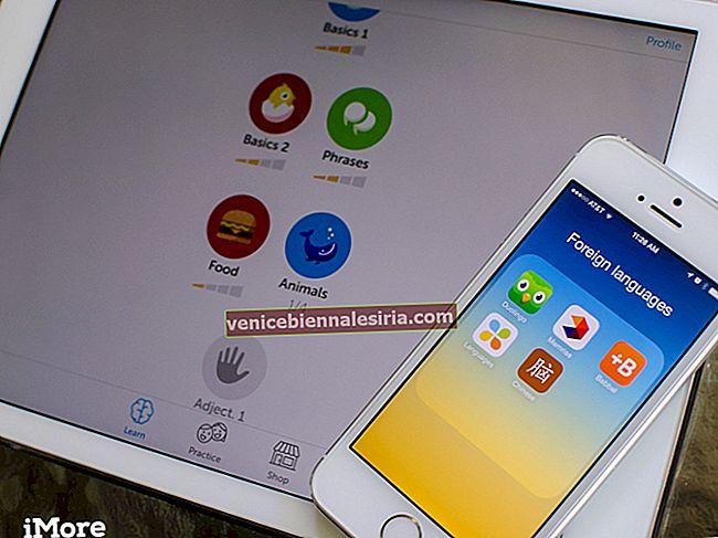 Bästa iPhone Apps för främmande språkinlärning 2021
