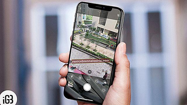 Hur man tar bilder med timer på iPhone 11 Pro Max