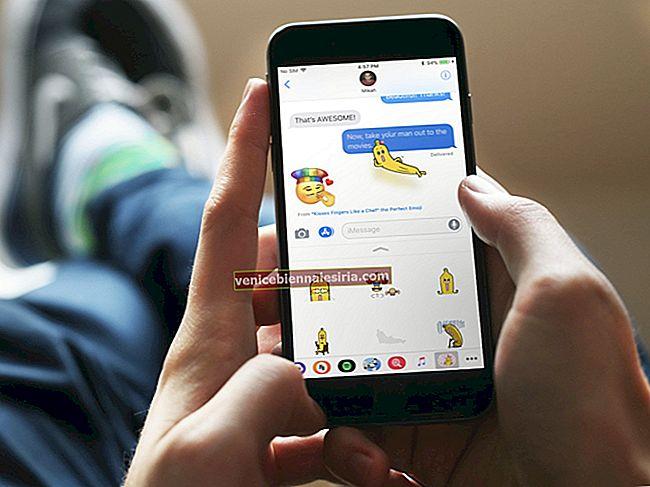 Så här tar du bort klistermärken från iMessages på iPhone och iPad