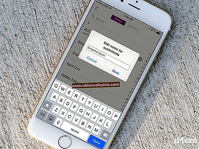 Hur man ändrar någons Snapchat-visningsnamn på iPhone
