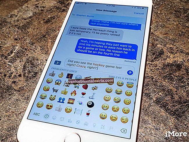 Как конвертировать текст в эмодзи в сообщениях на iPhone и iPad