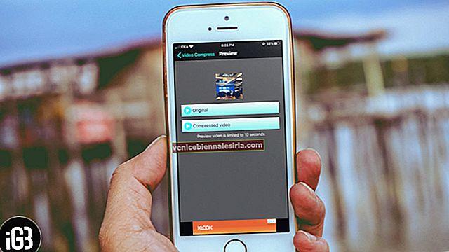 Hur komprimerar du video på iPhone och iPad