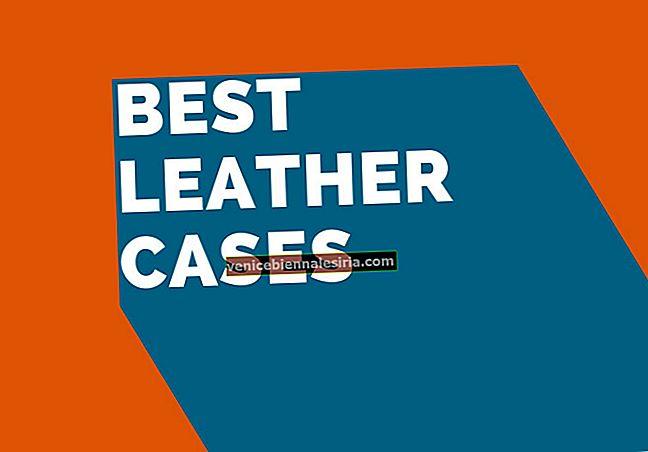Лучшие кожаные чехлы для iPhone 7 в 2021 году