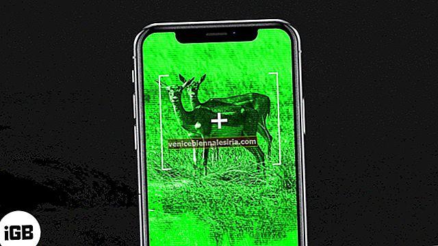 Bästa nattvisionsappar för iPhone och iPad 2021