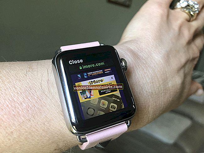 Как просматривать Интернет на Apple Watch