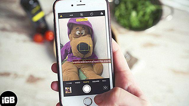 Cara Menyelaraskan Pendedahan di Aplikasi Kamera iPhone