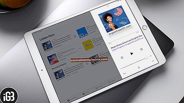 Cara Merakam dan Menyiarkan Podcast pada iPad