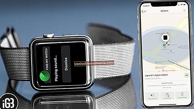 Topp 5 Apple Watch-säkerhetsfunktioner: Dubbel ned på integritet