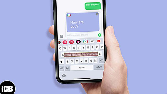 Så här ändrar du iMessage Bubble Color på iPhone och iPad