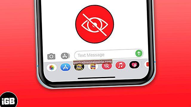 Hur man tar bort eller döljer applådan i meddelandeappen för iPhone