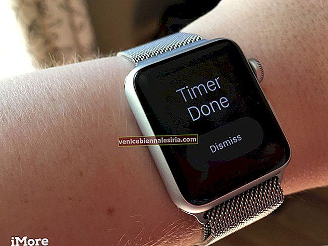 Hur man ställer in timer på Apple Watch