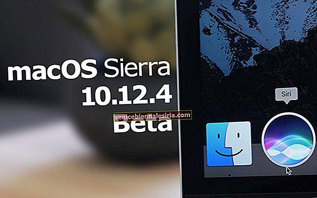 Så här aktiverar du nattskiftläge i macOS Sierra på Mac