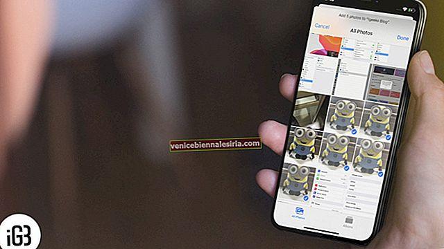 Hur man lägger till foton i albumet på iPhone