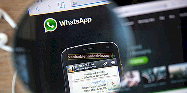 Hur man använder WhatsApp på din iPad