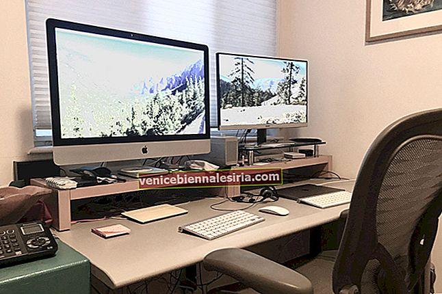 Hur man ställer in och justerar Mac-skärminställningar för en projektor