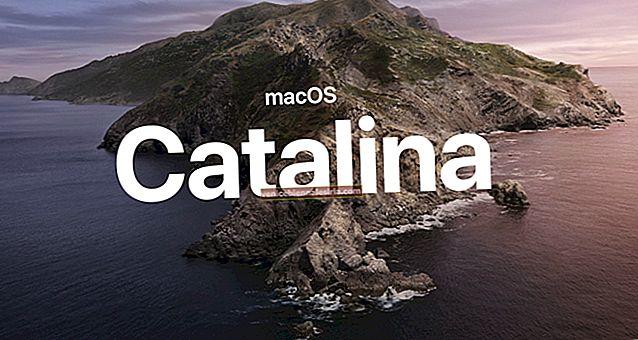 macOS Catalina-kompatibel MacBook Pro, MacBook Air, iMac och Mac Mini