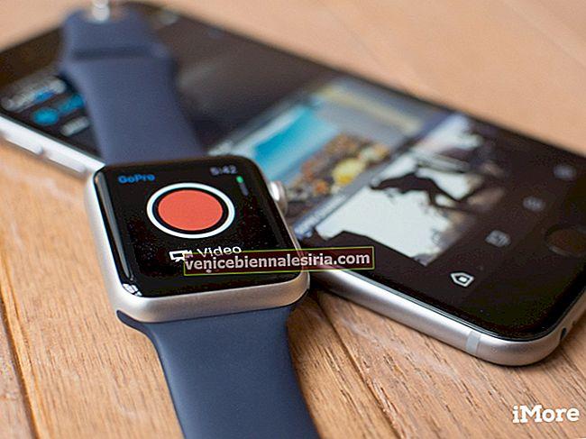 Приложение GoPro для iPhone - предлагает Apple Watch управлять своими камерами