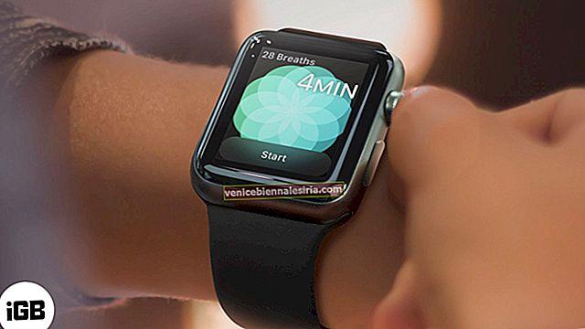 Как изменить время сеанса дыхания на Apple Watch