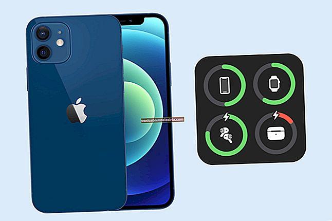 Hur man visar iPhone-batteriprocent på Apple Watch
