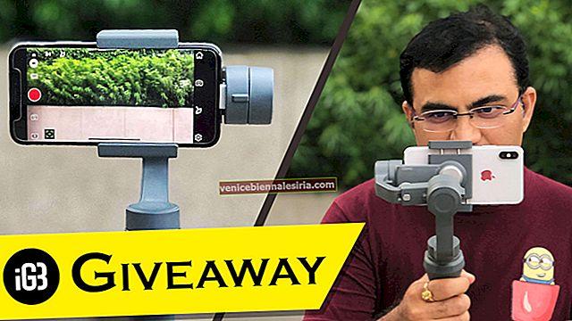 Pemenang Hadiah iGeeksblog Diumumkan