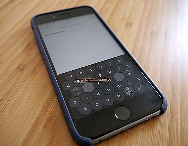 Aplikasi Papan Kekunci WRIO untuk iPhone