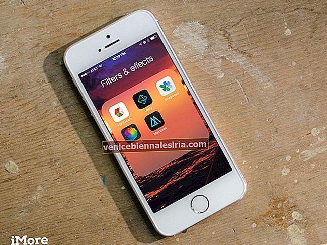 Bästa fotofilter och effektappar för iPhone 2021
