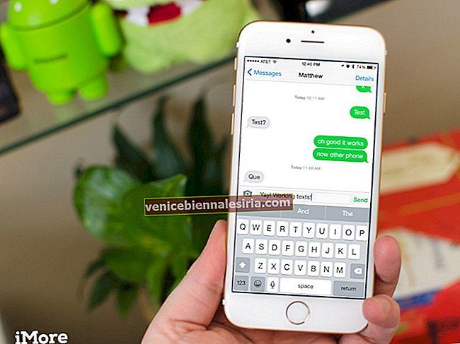 iPhone skickar inte textmeddelanden? Prova dessa korrigeringar