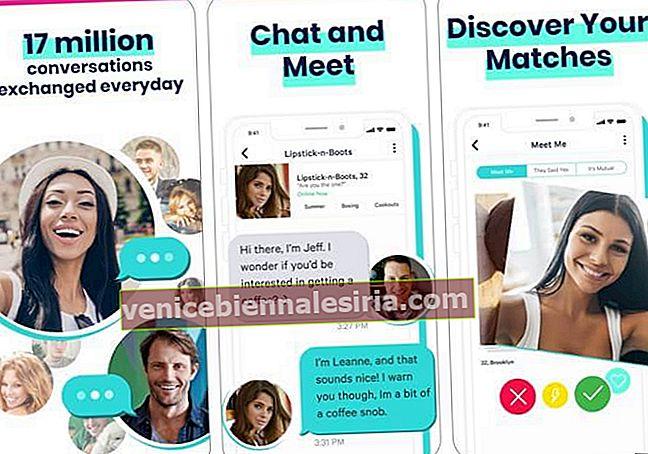aplicații live de întâlniri)