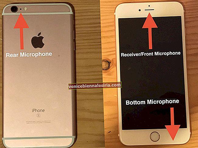 iPhone-mikrofon fungerar inte? Här är fixen!