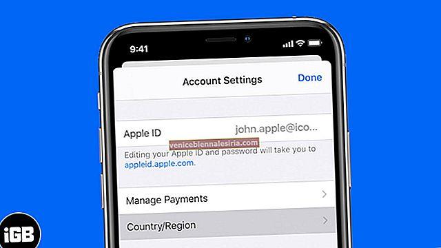 Så här ändrar du Apple Store-land eller region på iPhone, iPad och Mac