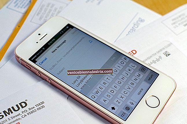 Så här skickar du mer än 5 foton via e-post på iPhone eller iPad