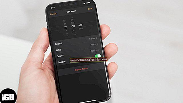 Så här ställer du in en anpassad alarmton på iPhone och iPad